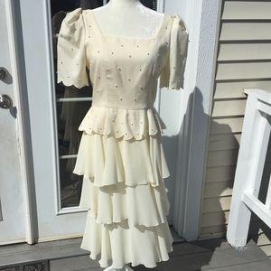 Lillie Rubin Vintage Beaded Dress